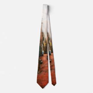 City - Germany - Alley - The other half 1904 Neck Tie