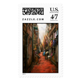 City - Germany - Alley - The other half 1904 Postage