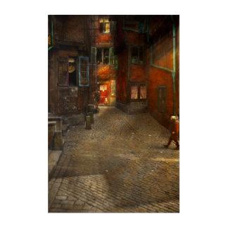 City - Germany - On a corner street 1904 Acrylic Print