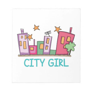 City Girl Note Pads