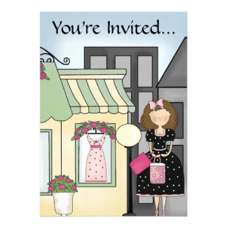 City Girl Party Invitation 4 ~ Customize!