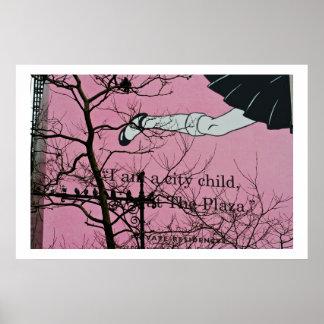 City Girl Print