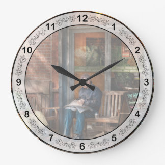 City - Greenwich Village - The path cafe Clocks