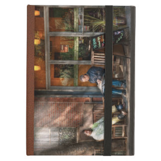 City - Greenwich Village - The path cafe iPad Case