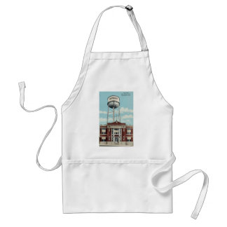 City Hall And Water Tank Humboldt, Tena, Vintage Aprons