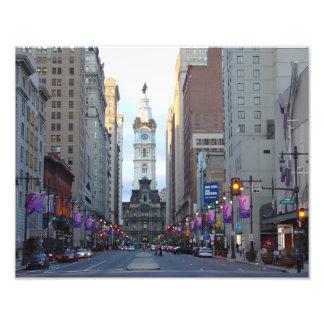 City Hall, Avenue of the Arts, Phila, PA Photo Print
