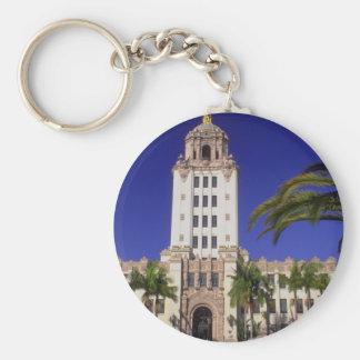 City Hall, Beverly Hills, California, U.S.A. Keychain