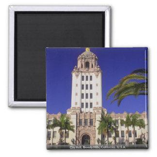 City Hall, Beverly Hills, California, U.S.A. Magnet