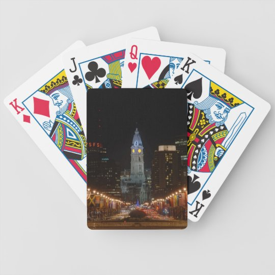 City Hall Bicycle Playing Cards
