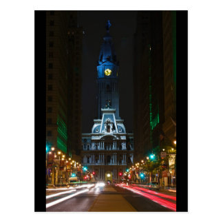 City Hall Broad Street Post Card
