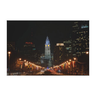 City Hall Stretched Canvas Prints