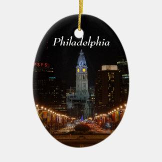 City Hall Ceramic Ornament