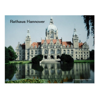 City hall Hanover Postcard