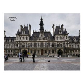 City Hall in Paris France Postcards