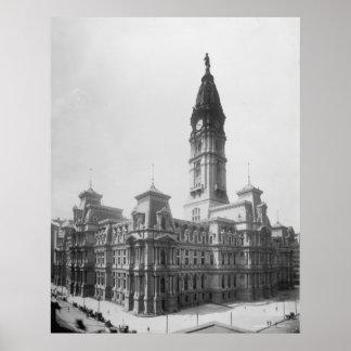 City Hall in Philadelphia Poster
