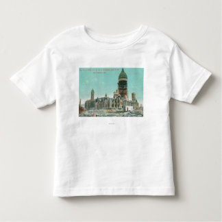 City Hall in Ruins After 1906 Fire Toddler T-shirt