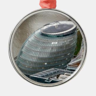 City Hall London England Metal Ornament