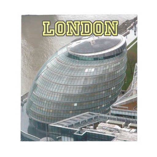 City Hall London England Note Pads