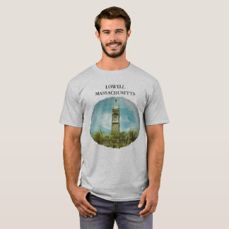 CITY HALL LOWELL MASSACHUSETTS T-SHIRT