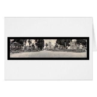 City Hall Panama Photo 1913 Card
