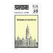 City Hall Philadelphia PA 1891 Postage