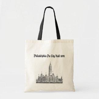 City Hall Philadelphia PA 1891 Tote Bag