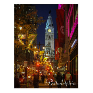 City Hall, Philadelphia Postcard