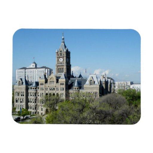 City Hall Rectangular Photo Magnet