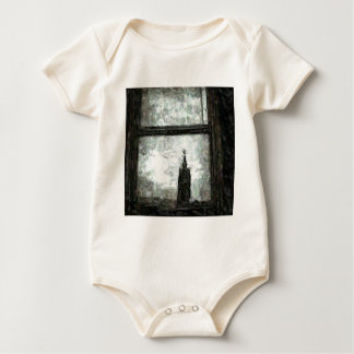 City Hall Reflections Baby Bodysuit