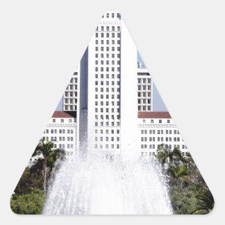 City Hall Triangle Sticker