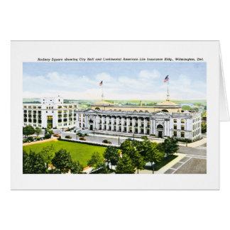 City Hall, Wilmington Delaware Card