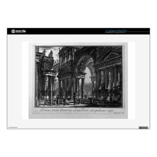 City hanging arm, and sailed below by Giovanni Laptop Skin