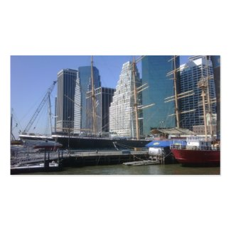 City Harbor Boats Business Cards