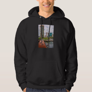 City - Harbor Place - Baltimore World Trade Center Hoodie