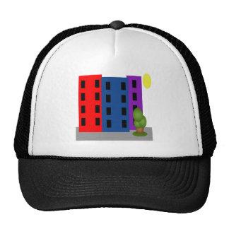 city mesh hat
