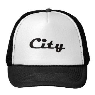 City Trucker Hat