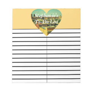 City Heart To-Do/Shopping List Pad Notepads