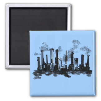 City Heat 2 Inch Square Magnet