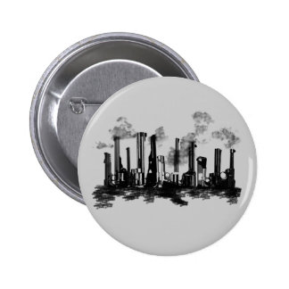 City Heat Pinback Button