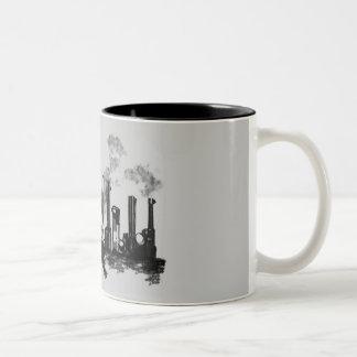 City Heat Two-Tone Coffee Mug