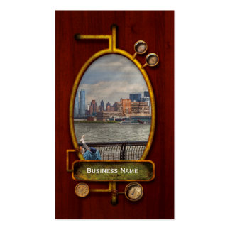 City - Hoboken, NJ - Fishing - The good life Double-Sided Standard Business Cards (Pack Of 100)