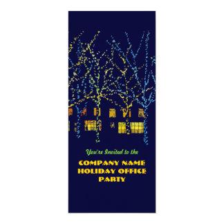 City Holiday Office Party Invitations