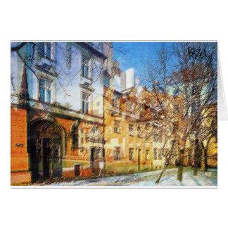 City in Seasons Card