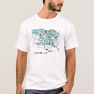 CITY ISLAND graff T-Shirt