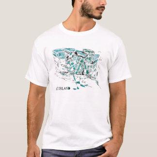 CITY ISLAND graff T-Shirt
