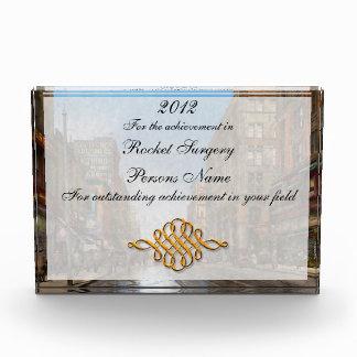 City - Kansas City MO Commerce from the past 1900 Acrylic Award