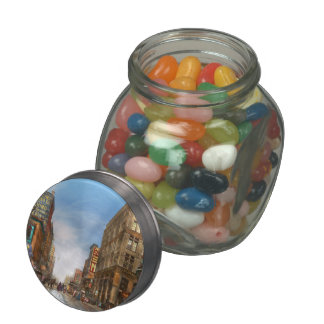 City - Kansas City MO Commerce from the past 1900 Jelly Belly Candy Jars