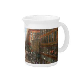 City - Kansas City MO - Petticoat Lane 1906 Drink Pitcher