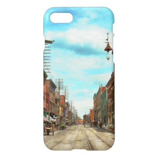 City - Knoxville TN - Gay Street 1903 iPhone 8/7 Case