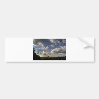 City Landscape View Bumper Sticker